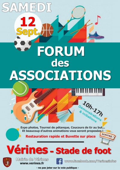 Forum des Associations - Vérines